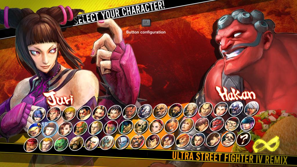New character select!